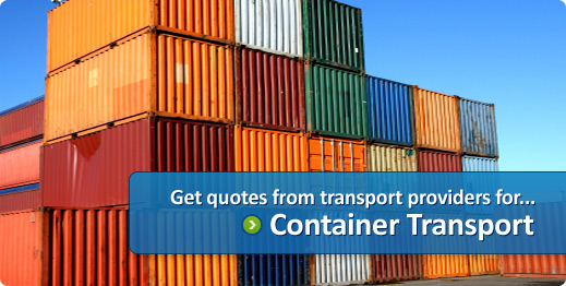 container transport quotes