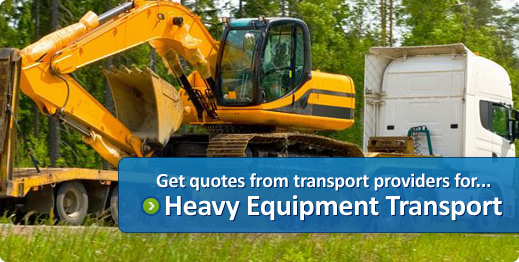 machinary transport quotes